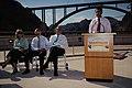 FHWA Administrator Victor Mendez, Mike O'Callaghan-Pat Tillman Memorial Bridge dedication 2010 (6990115564).jpg