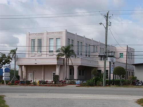 Florida Power And Light Company Ice Plant. Show Map Of Florida