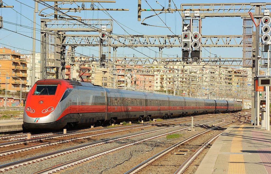nagysebességű vasút, ETR 500, olaszország