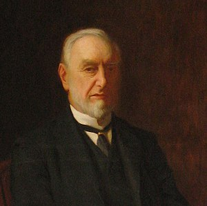 Sir Frederick Mappin, 1st Baronet - Sir Frederick Thorpe Mappin, Portrait in Mappin Hall, University of Sheffield