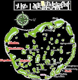 Faafu Atoll map with all resorts – Maldives Map Org