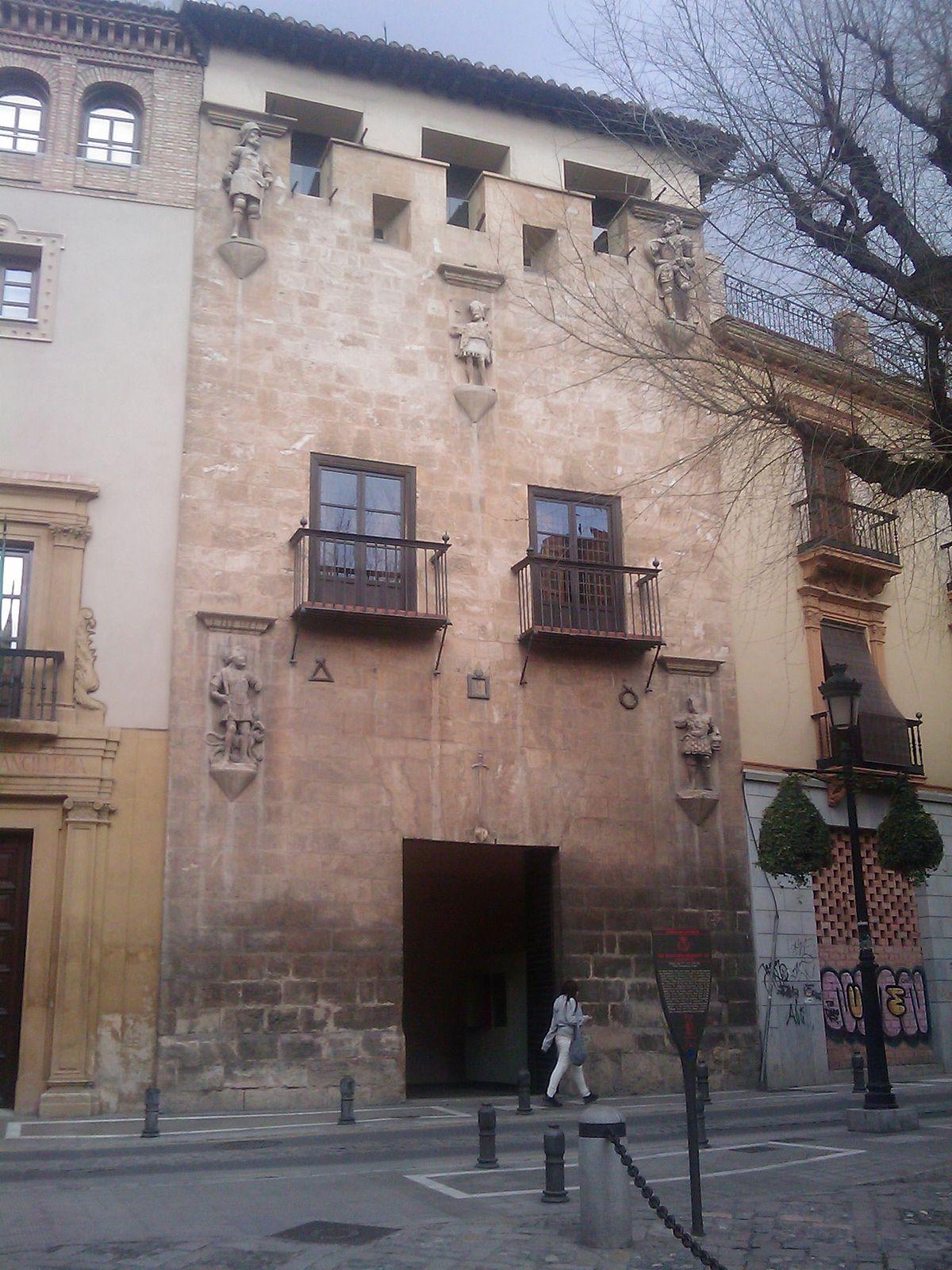 Casa de los tiros wikipedia la enciclopedia libre for Casa de granada
