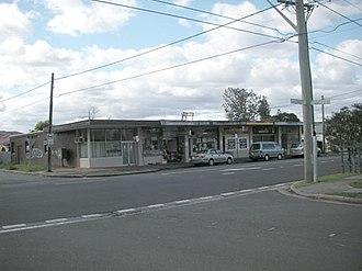 Fairfield East - Shops in Tangerine Street