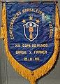 Fanion Coupe du Monde 21.06.1986 (Brésil - France), musée national du sport (Nice).JPG