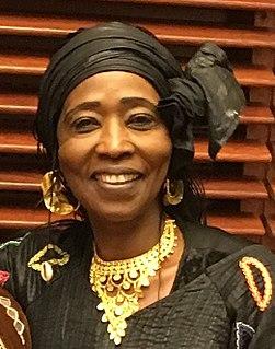 Fatoumata Coulibaly Malian activist and actress
