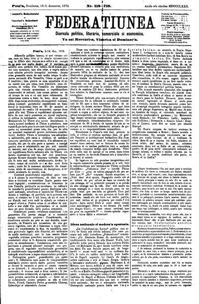 File:Federațiunea 1872-12-03, nr. 118.pdf