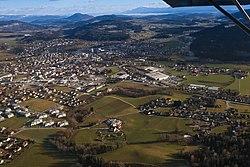 Feldkirchen Nordwestansicht Flugaufnahme 141226a.jpg