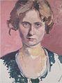 Felix Esterl - Frau des Künstlers - ca 1923.jpeg