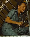 Female worker detail, Production of B-24 bombers and C-87 transports (cropped).jpg
