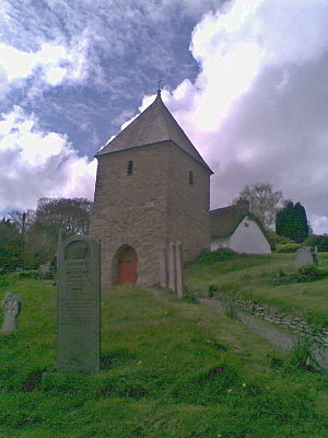Feock, Cornwall - Image: Feock Church Bell tower