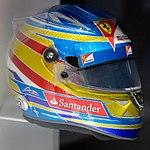 Fernando Alonso 2012 Singapore helmet 2017 Museo Fernando Alonso.jpg