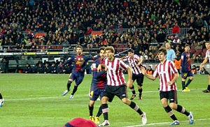 Fernando Llorente - Llorente playing against Barcelona (2012)