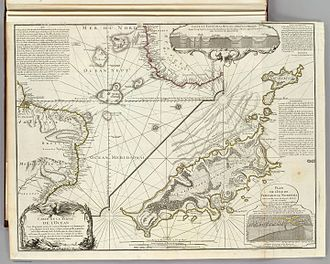 Philippe Buache - Philippe Buache, Carte d'une partie de l'Océan vers l'Équateur entre les costes d'Afrique et d'Amérique... Paris, 1737. Map engraved on copper (63,5 x 48,3 cm)