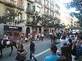 Festa Major de Gràcia 2011 - colles de Sant Medir - XIII cercavila de cultura popular - carrer Gran P1330054.jpg