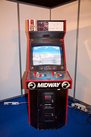 Ultimate Mortal Kombat 3 - UMK3 arcade machine