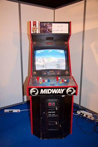 Ultimate Mortal Kombat 3 - UMK3 arcade machine
