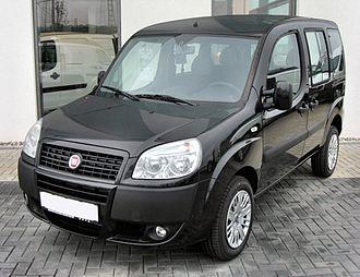 Fiat Doblò - Post-facelift Fiat Doblò