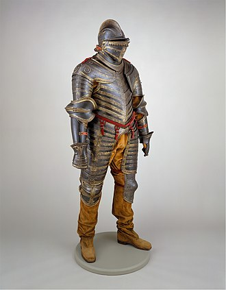 Cavalier boots - Image: Field Armor of King Henry VIII of England (reigned 1509–47) MET DT205963