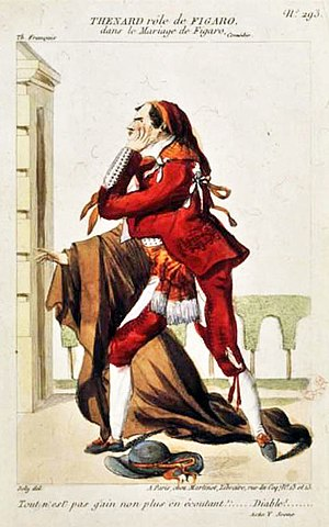 The Marriage of Figaro (play) - Costume design for Figaro (1807 production)