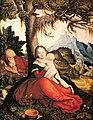 File-Hans Baldung - The Holy Family in a Landscape - Gemäldegalerie der Akademie der bildenden Künste Wien.jpg