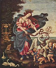 Allegory of Music, by Filippino Lippi