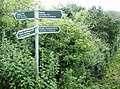 Fingerpost at Newchurch, Isle of Wight.jpg