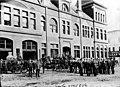 Fire brigade outside city hall, Port Townsend, Washington, July 4, 1892 (WASTATE 832).jpeg