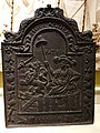 Fireback with Dutch lion and inscription 'Hollandia Pro Patria', unidentified maker, The Netherlands, 1665, cast iron - Albany Institute of History and Art - DSC07979.JPG