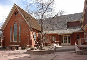 First Presbyterian Church of Golden and Unger House - Image: First Presbyterian Church of Golden Golden CO