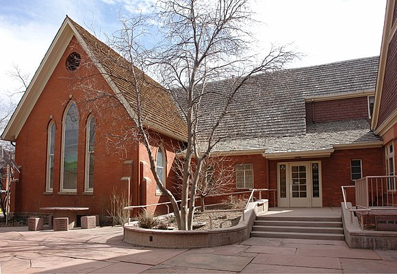 First Presbyterian Church of Golden and Unger House