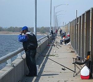 Joseph P. Addabbo Memorial Bridge - Walkway along west side