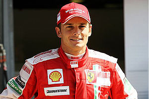 Formula One drivers from Italy - Giancarlo Fisichella, the most recent Italian driver to win a Formula One Grand Prix