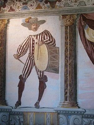 Pietro Ricchi - Image: Fléchères chambre Parade 1