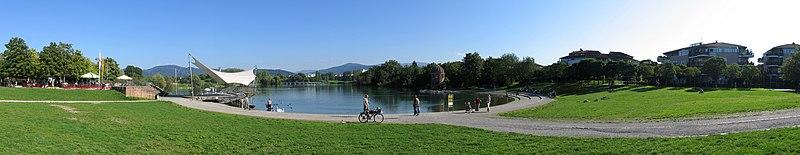 Der Flückiger See – Ein Teil des ehemaligen Landesgartenschaugeländes