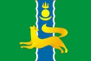 Barguzinsky District - Image: Flag of Barguzinsky rayon (Buryatia)