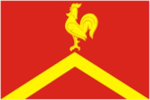 Krasnoarmeysky District, Chelyabinsk Oblast - Image: Flag of Krasnoarmeisky rayon (Chelyabinsk oblast)