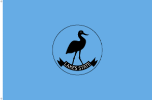 Lakes (state) - Image: Flag of Lakes State