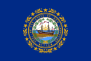 New Hampshire delstatsflag
