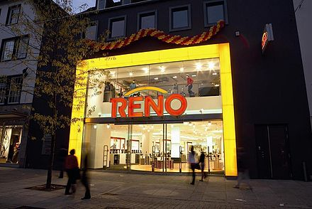 promo code be2ba 69275 Reno (Schuhhandel) - Wikiwand
