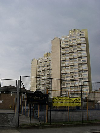 Stockwell - Image: Flats on Grantham road geograph.org.uk 970266