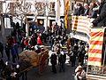 Flickr - Convergència Democràtica de Catalunya - Oriol Pujol des del balco de l'ajuntament amb traginers del a cercavila de la festa del traginer de Balsareny.jpg