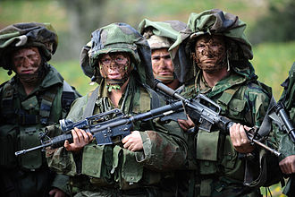 Nahal Brigade - Image: Flickr Israel Defense Forces Camouflage training of the infantry Nahal brigade