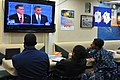 Flickr - Official U.S. Navy Imagery - Deployed Sailors watch a presidential debate..jpg
