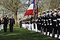 Flickr - Official U.S. Navy Imagery - French Chief of Naval Staff Adm. Bernard Rogel, right, salutes the colors during a troop inspection..jpg