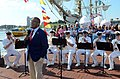 "Flickr - Official U.S. Navy Imagery - Members of the U.S. Navy Ceremonial Band perform behind Al Roker during a taping of the ""Today Show"" at Baltimore's Inner Harbor during Baltimore Navy Week 2012..jpg"