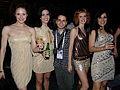 Flickr - proteusbcn - En Rafa amb les fantàstiques coristes.jpg