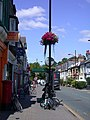 Floral decoration in Mill Road - geograph.org.uk - 891012.jpg
