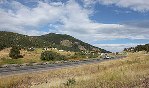 Floyd Hill, Colorado - Interstate 70 goes through the community of Floyd Hill.