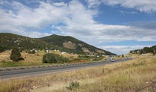 Floyd Hill, Colorado census designated place