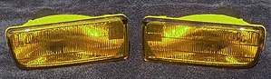 Automotive lighting - Selective yellow fog lamps